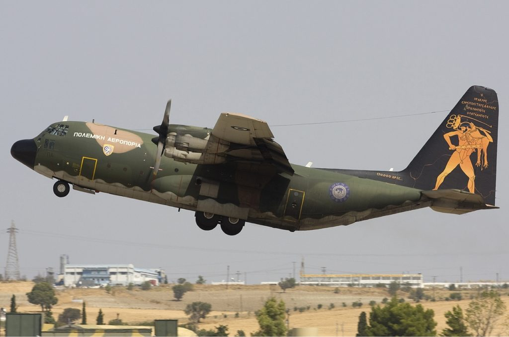 c-130 Hercules Greek Air Force
