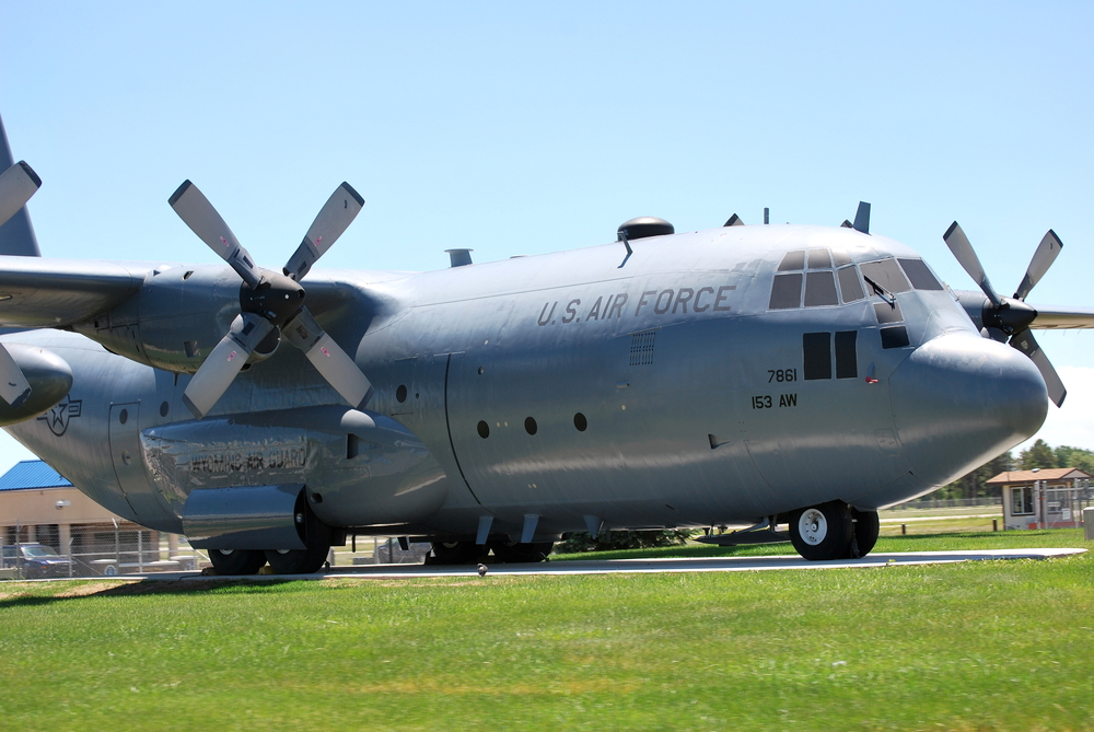 history of the c-130 us Air Force