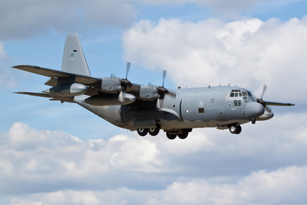 history of the c-130